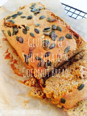GF Sweet Potato & Coconut Bread